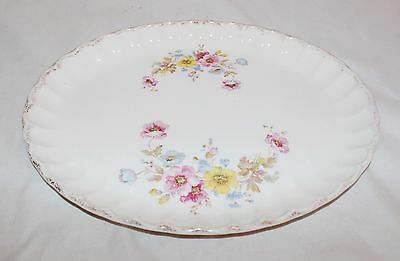 W.S. Bolero Serving Platter Flower Pattern
