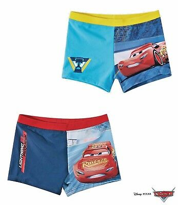 Disney Cars Boys Kids Character Swimming Boxers Swim Trunks Age 2 3 4 5 6 7 8
