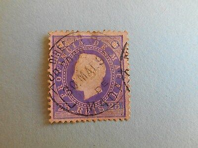 Macau - 1888 - Nr. 35- China Post