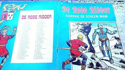 De Rode Ridder - Karpax De Stalen Man Willy Vandersteen) 01-08 -1978