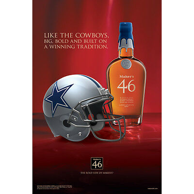 Makers 46 Dallas Cowboys Poster 24 By 36