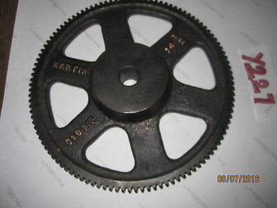 Martin C18112 14.5 Deg Iron 112T Teeth Spur Gear ~7''