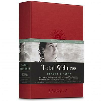 Boscolo Gift - Total Wellness. Idea regalo weekend relax SPA pacchetto benessere