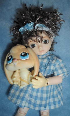 Bobobie Elfkin Nissa Full Doll & Outfit Bunny Slippers Pet NS-P Tiny 15cm BJD