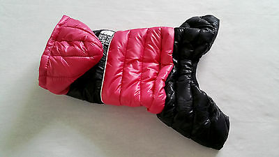 Small pet dog warm winter clothes Chihuahua Waterproof Pink coat Yorkie M, L