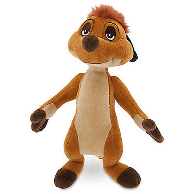 Disney Store The Lion King Timon Plush Small 10'' New With Tags