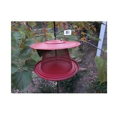 No/No Red Cardinal Wild Bird Feeder Holds 2.5 Lbs+ Black Oil Sunflower Seed