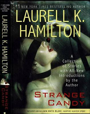Laurell Hamilton Strange Candy A Collection Of Stories First Edition