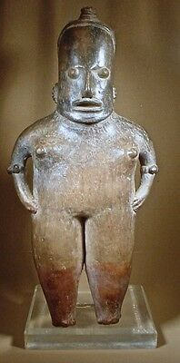 Pre-Columbian Large Female Pihuamo Figure Jalisco  Ex Sotheby '78