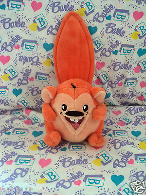 Neopets ORANGE MEERCA Neopet Keyquest  Plush - Plushie - No Tags - Jakks Pacific