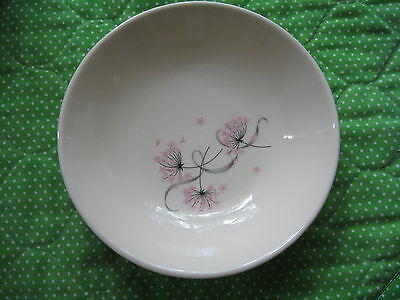 """TAYLOR SMITH&Taylor,FRUIT/BERRY BOWL,LOT OF 6, 5.25"""", TST 104,Pink Lace pattern"""