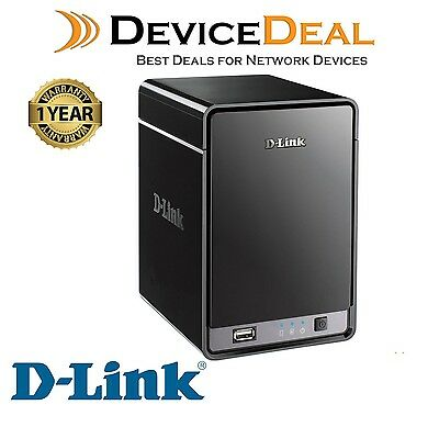 D-Link DNR-322L SecureCenter 2-Bay Cloud Network Video Recorder (NVR) - OPEN BOX
