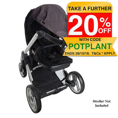 Playette Sunshade UPF50 Plus Protection for Baby Stroller/Pram Sun Shade