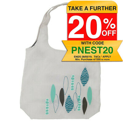 Playette PVC Free Shopping Bag/Carry Tote for Stroller/Pram Accessory Cream