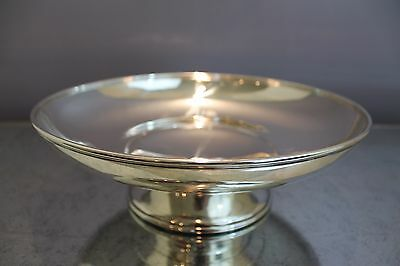 "Whiting Sterling Silver 12"" Shallow Centerpiece Bowl 21.3 OZ"
