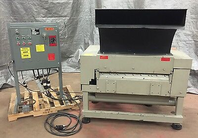 "Granulator 7"" x 35"" Wortex UP-735 PLASTIC Under of the Press Paddle Feed"