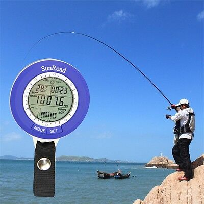 Multi-Function Lcd Digital Outdoor Fishing Barometer Altimeter Thermometer Xx