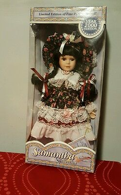 Samantha Collection Limited Edition Porcelain Doll Series 2000 New