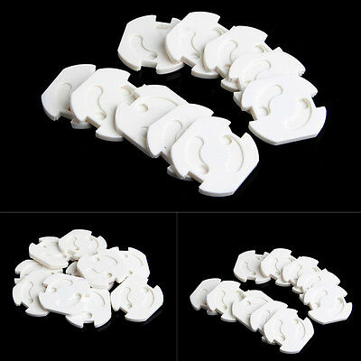 Useful Baby Child Safety EU Power Socket Outlet Plug Protective Cover 10pcs