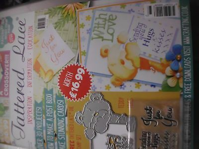 Tattered Lace Magazine, Issue 37 With Die /stamps New Unopened