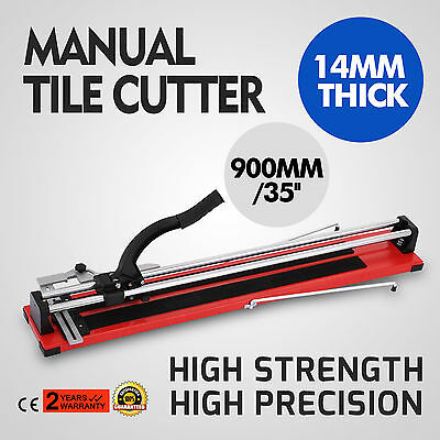 VEVOR 10900Q 35-Inch Manual Tile Cutter with Tungsten Carbide Scoring Wheel for