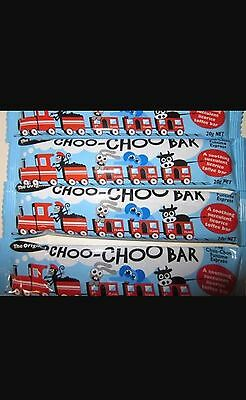 CHOO-CHOO BARS - THE ORIGINAL LICORICE BAR - 10 x 20g bars