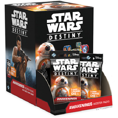 Star Wars Destiny Awakenings Factory Sealed Booster Box