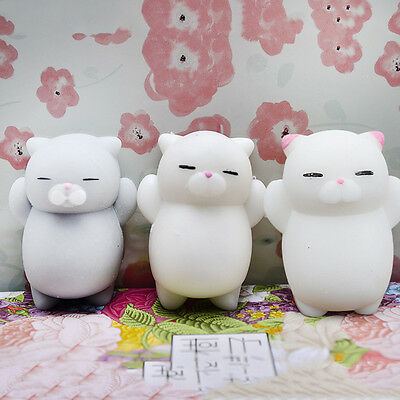 Lovely Soft Cat Squishy Healing Squeeze Fun Kid Toy Gift Stress Reliever Decor