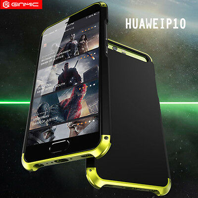 New Metal Aluminum Bumper Full Case Hard PC Back Cover For Huawei P10 P10 Plus