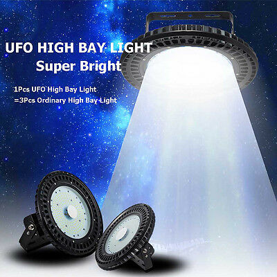 UFO LED High Bay Lights 100W 150W 200W 250W  Warehouse Industrial Factory Lamp