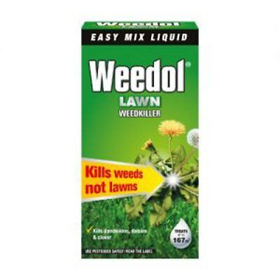 Weedol Lawn Weedkiller 250ml rrp £6.27 OUR PRICE £4.99