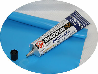 Poolflicken ca. 35 x 70 cm  Poolfolien  +  PVC Kleber 170gr. Pool reparatur Set.