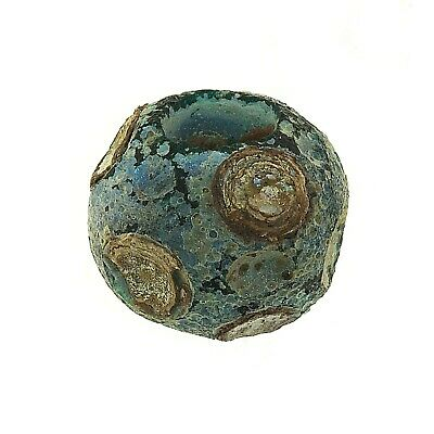 Chinese warring states period glass bead (1565)