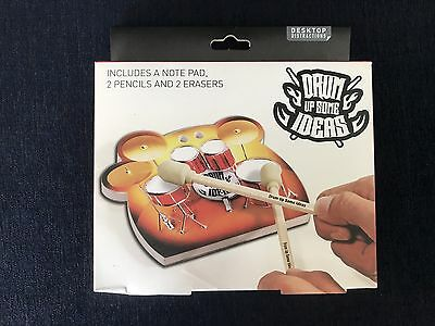 Drum Up Some Ideas Stationary Set New By Paladone