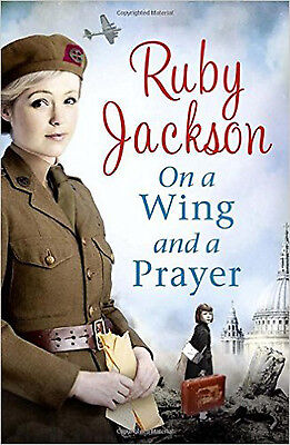 On a Wing and a Prayer (Churchills Angels 3), New, Jackson, Ruby Book