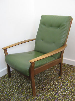 Retro Lounge Chair / Armchair by Cintique, Parker Knoll style. Refurb Northants