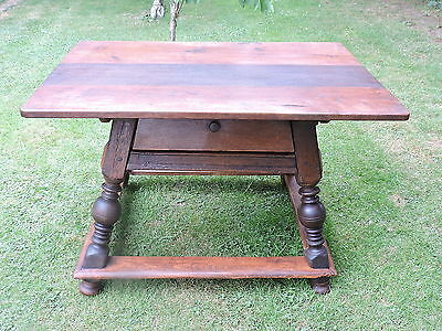 ANTIQUE RARE  SUPERB RENT TABLE CIRCA EARLY 1800s POSSIBLY SWISS OR EUROPEAN