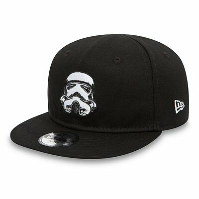 |80489310| Gorra New Era – 9Fifty Star Wars Ess Stormt negro 2017 Niños Algodón
