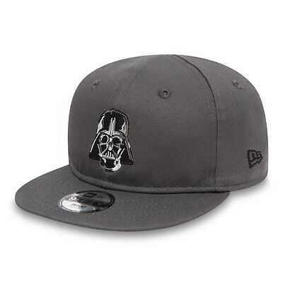 |80489314| Gorra New Era – 9Fifty Star Wars Ess Dart Vader gris 2017 Niños Algod