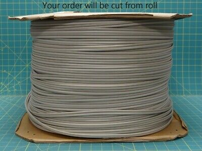"50 Ft- Ultrafab Inc Tan Weatherstrip 0.25"" Dia. Bulb Window Kerf E10118TN5020"