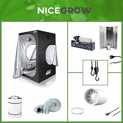 Growset Dark Box 60 ESL 125 Watt (85W) Blüte Komplettset Set Growbox