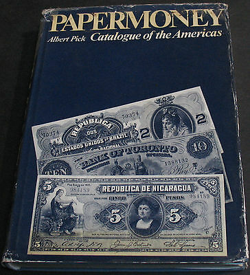 Paper Money Catalogue Of The Americas By Albert Pick First Edition