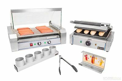 Large - Professional Set For Making Hot Dogs