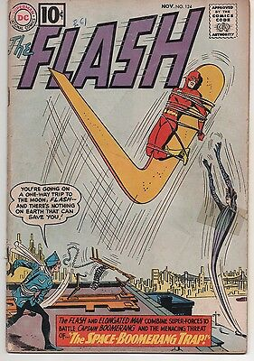 The Flash #124 (Nov 1961, DC) affordable reader copy