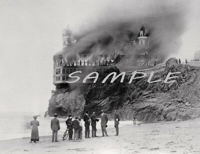 HISTORIC CLIFF HOUSE Fire PHOTO