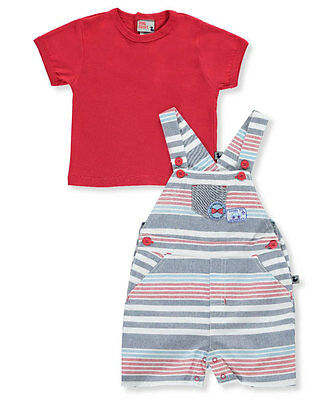 "DDG Sport Baby Boys' ""Going to Grandma's"" 2-Piece Outfit"