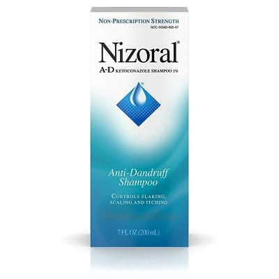 Anti Dandruff Shampoo Nizoral A-D, 7oz Itchy Scalp Shampoo NEW Free Shipping
