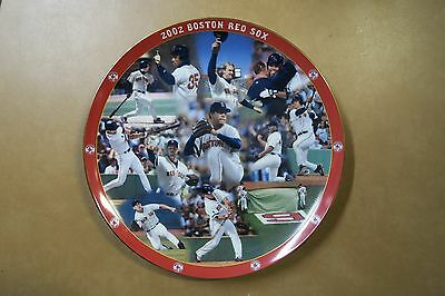 2002 Boston Red Sox Collector Plate by Danbury Mint Ser No. B2540