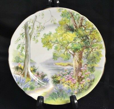 Shelley England 6 Inch Woodland Side/Bread & Butter Plate 13348