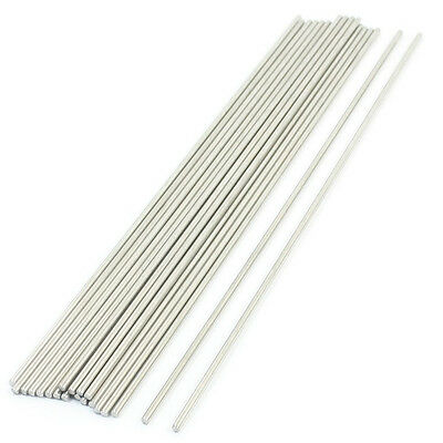 20PCS 170mm x 2mm Stainless Steel Round Rod Axle Bars for RC Toys W8E4